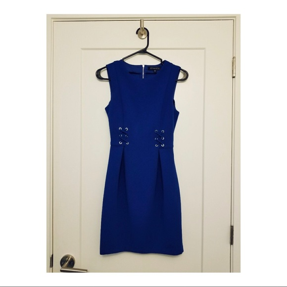 Dynamite Dresses & Skirts - Vivid blue sleeveless Dynamite dress (XS)